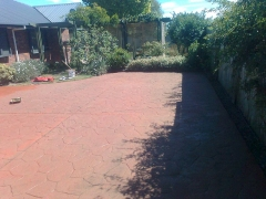 Complete sealed driveway